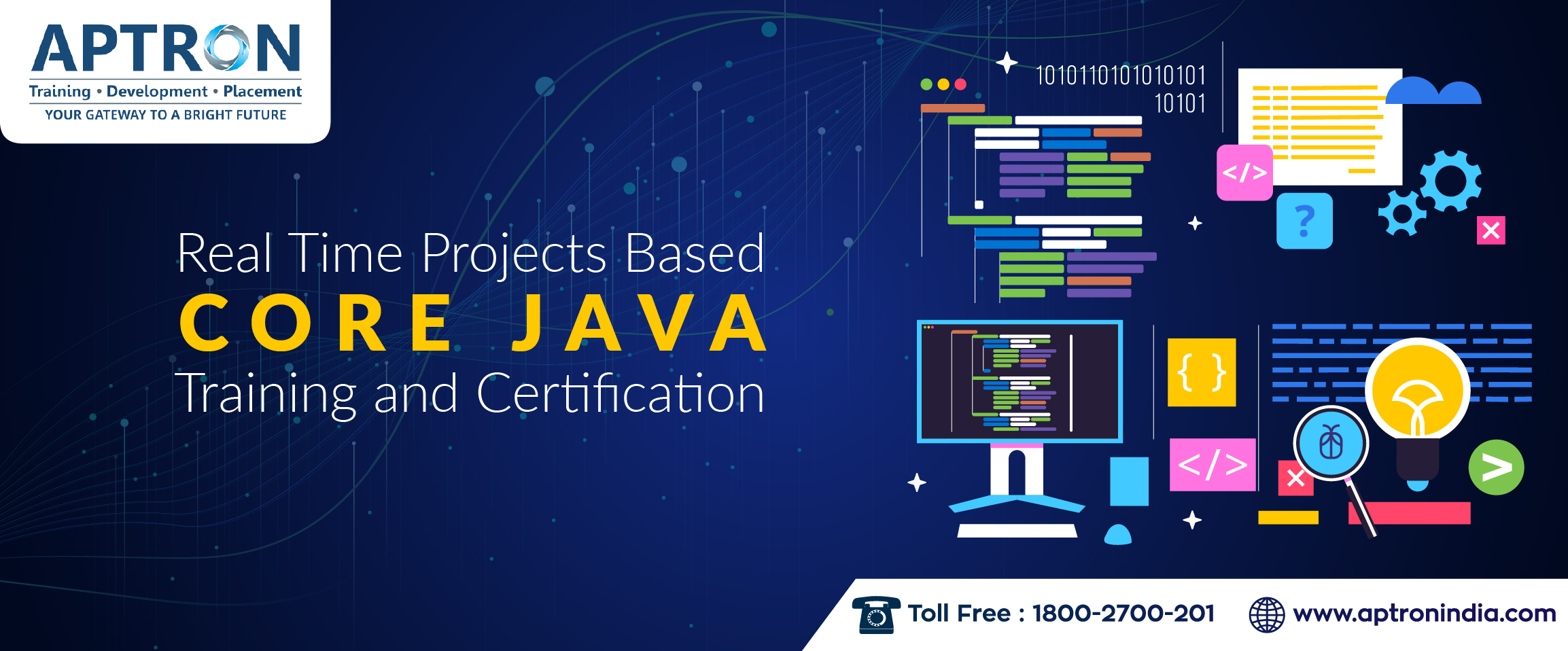 Real Time Projects based Core Java Training and Certification