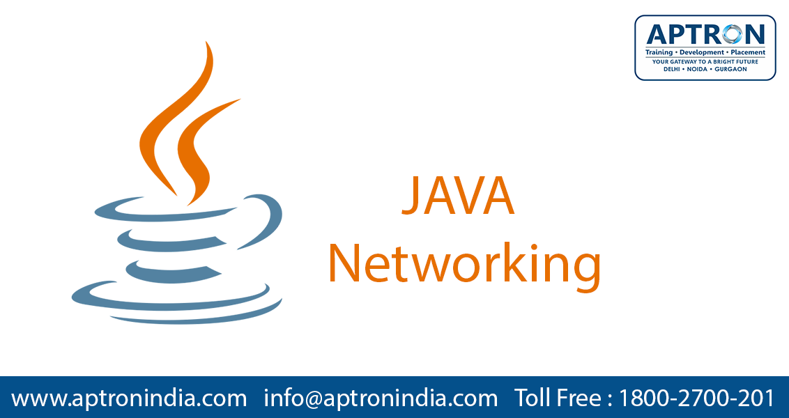 java networking aptron