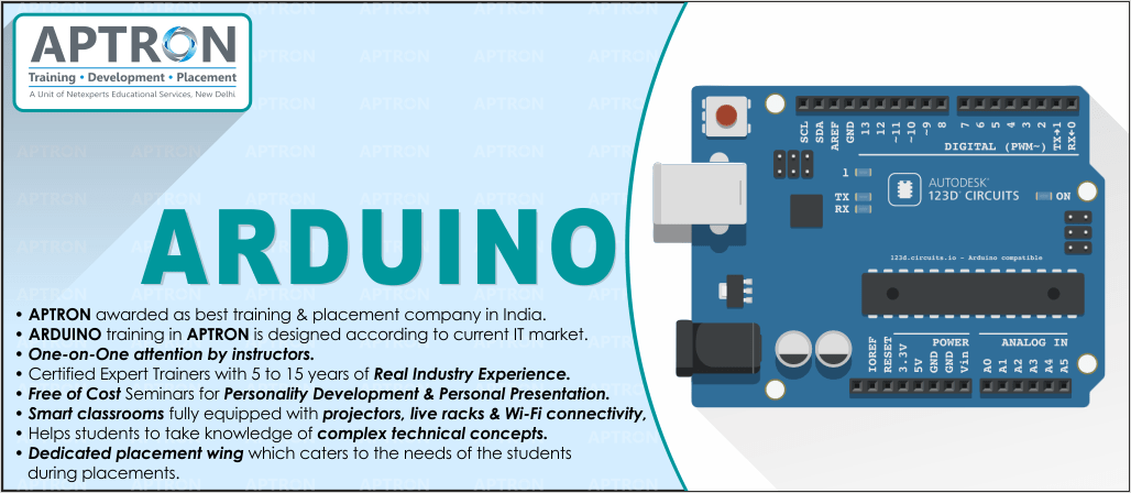 Best ARDUINO training institute in noida