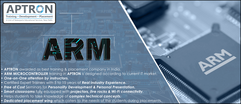 Best ARM Microcontroller training institute in noida