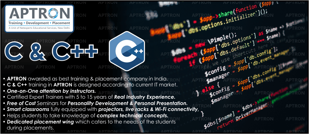 Best C C++ training in Noida