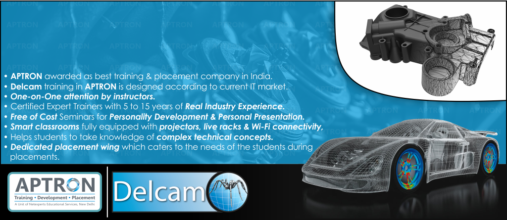 Best Delcam training institute in noida