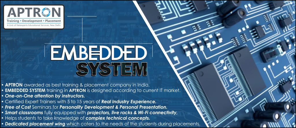 Best Embedded Systems training institute in noida