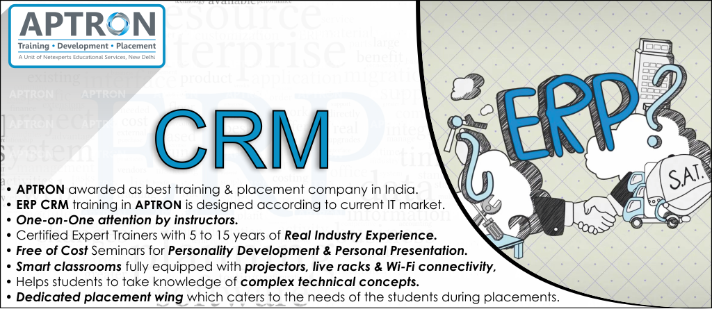 Best ERP CRM training institute in noida
