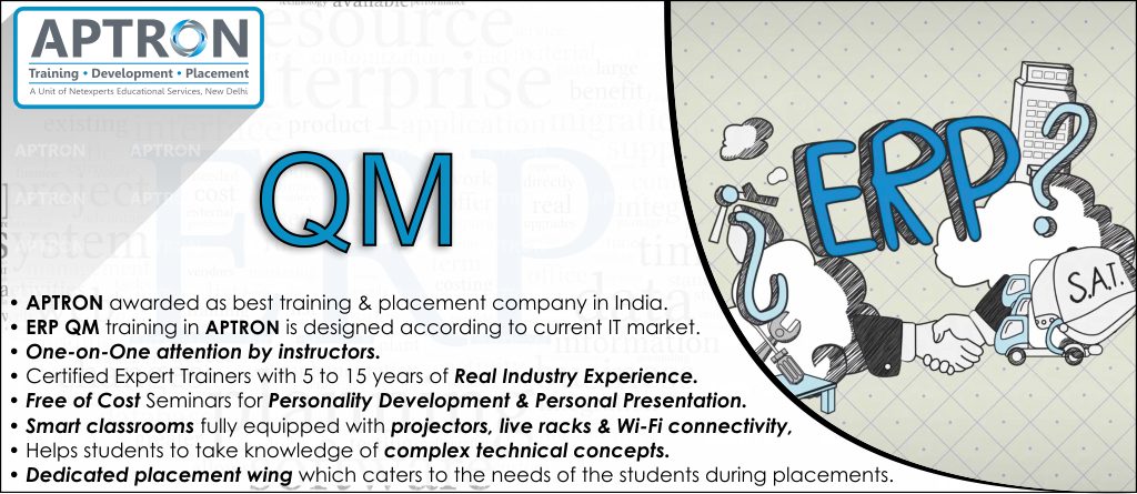 Best ERP QM training institute in noida