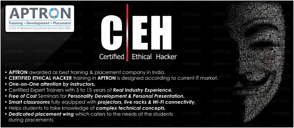 Best Project based 6 Month Industrial Training in Ethical Hacking