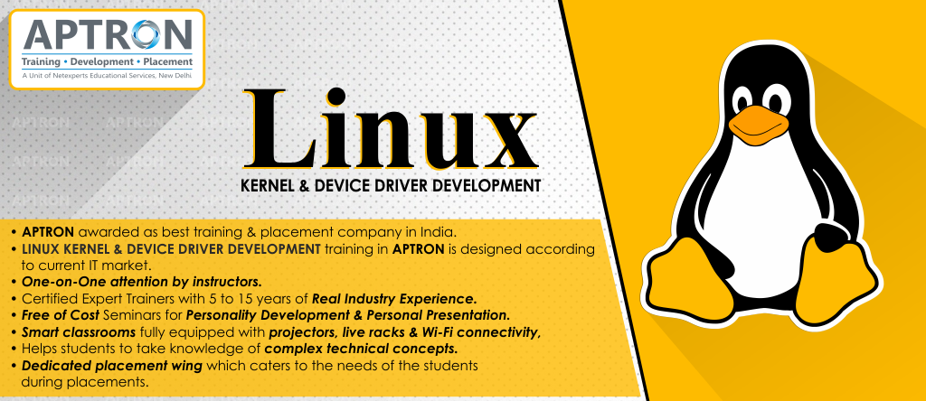 Best Linux Kernel and Device Driver Development training institute in noida