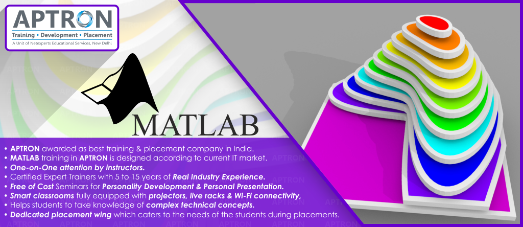 6 Weeks MATLAB Summer Training in Noida, Matlab Course Noida