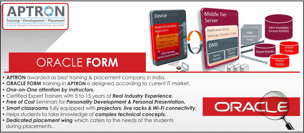 Best Oracle Forms and Reports training institute in noida