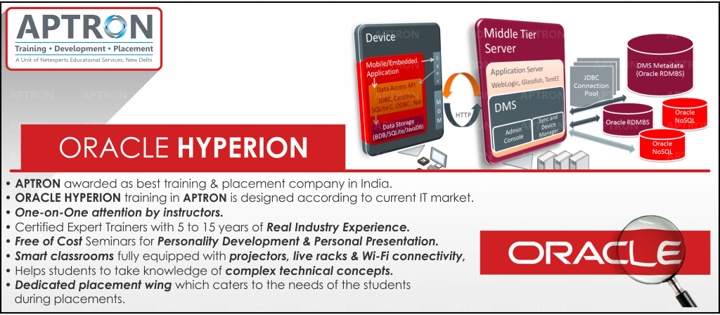 Best Oracle Hyperion training institute in noida