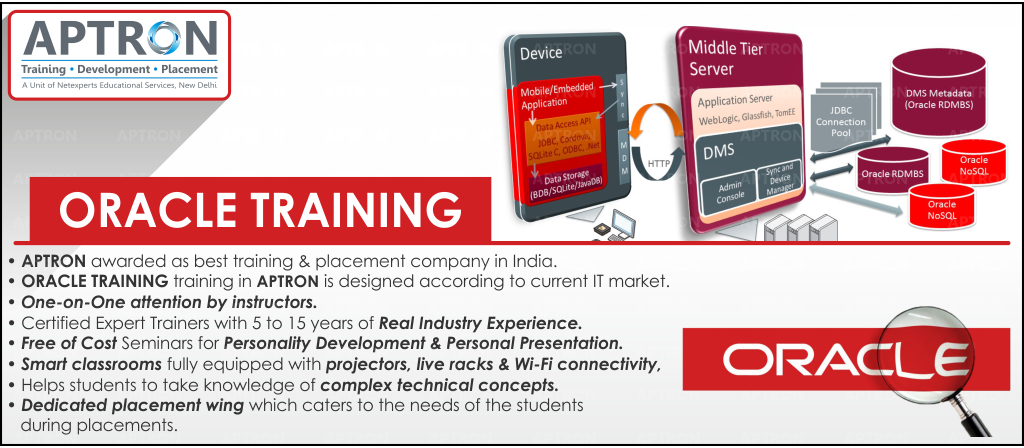 Best Oracle training institute in noida