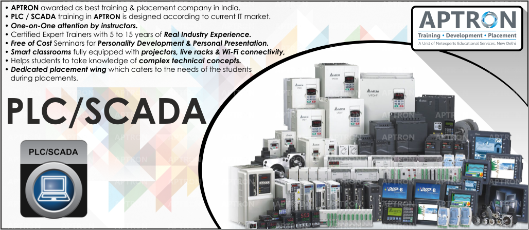 Best Project based 6 Weeks Summer Training on plc scada in Noida