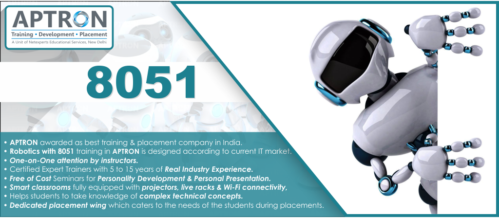 Best Robotics With 8051 training institute in noida
