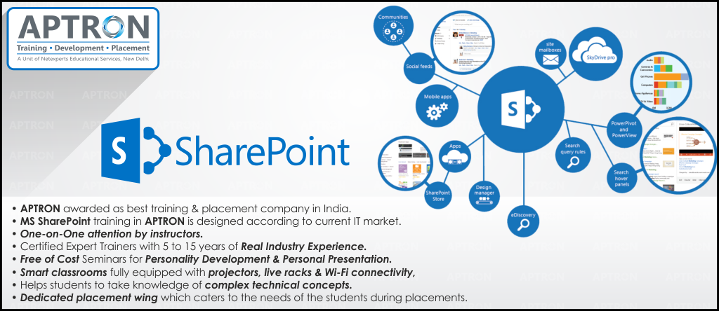 Best Sharepoint training institute in noida