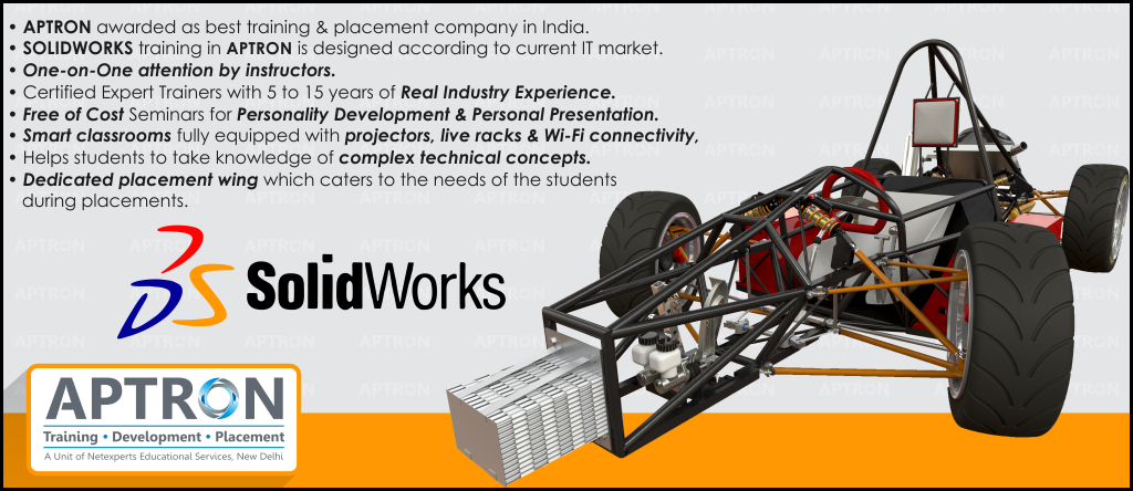 Best 6 Weeks Solidworks training institute in noida