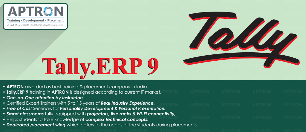 Best Tally ERP 9 training institute in noida