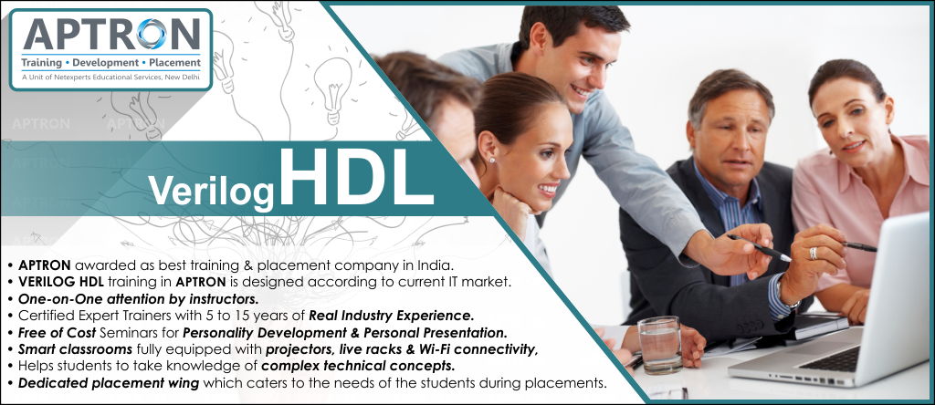 Best Verilog HDL training institute in noida